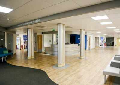NHS Main Reception and Subwait Areas, Surrey